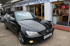 **Lexus IS 300 Sport** in Lakenheath, UK