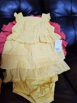 New Baby Girl Size 12 Months Summer Dress in Travis AFB, California