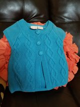 Adorable baby girls  cable knit  sweater size 6-9 months in Travis AFB, California