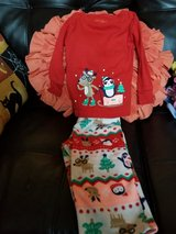 Size 12 month Winter Themed Pjs in Travis AFB, California