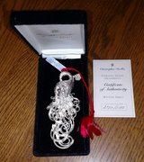 Chirstopher Radko Winter Spirts Sterling Silver Ornament in Chicago, Illinois