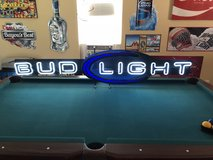 Bud Light Neon sign in Leesville, Louisiana