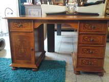 Solid wood desk in Spangdahlem, Germany