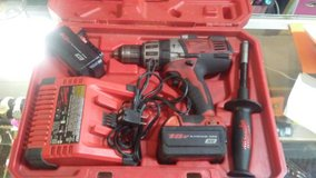 """milwaukee cordless 1/2"""" hammer drill in case in Byron, Georgia"""
