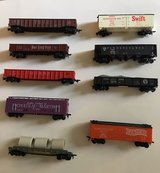 9 Vintage HO-Scale Train Cars Lot A in Bolingbrook, Illinois