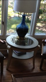round end table or sm coffee table in Westmont, Illinois