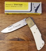 REDUCED NEW Rare Vintage Silver Eagle Knife in 29 Palms, California
