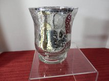 "4"" Speckled Silver Votive Holder in Chicago, Illinois"