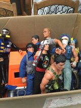 action men in Lakenheath, UK