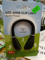 Be visible! LED shoe clip light in Yucca Valley, California