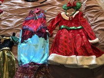 Costumes - Mermaid/Fairy and Minnie Mouse Christmas Costume with matching Mouse Ears in Glendale Heights, Illinois