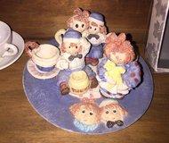 Raggedy Ann And Andy tea set in Fort Carson, Colorado