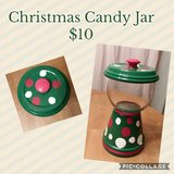 Christmas Candy Dish in DeRidder, Louisiana