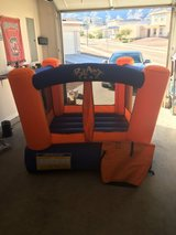 Bounce house in Fort Bliss, Texas