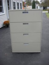FOUR DRAWER LATERAL FILE CABINET in Plainfield, Illinois