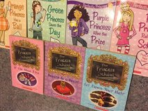 Lot of 7 chapter books for girls Perfectly Princess-The Princess School in Joliet, Illinois