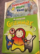 Math and Grammar books for Elementary classes in Joliet, Illinois