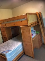 BunkBed for sale $180 with dresser (mattress not included) in Okinawa, Japan