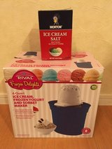 Rival Frozen Delights Ice Cream Maker and Ice Cream Salt in Okinawa, Japan