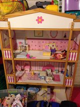 Barbie Doll House in Quad Cities, Iowa