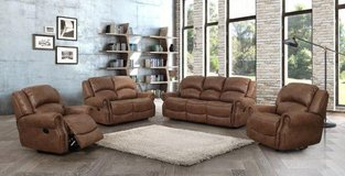 Lodge Recliner Set - Sofa + Loveseat + Chair including delivery - Rocker Recliner available in Spangdahlem, Germany