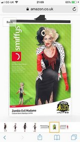Brand New Zombie Evil Madame Outfit (RRP £25) in Lakenheath, UK