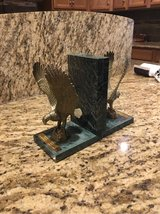 Brass and Marble bookends in Alamogordo, New Mexico