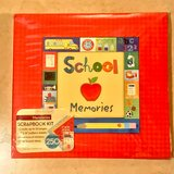 "School Memories 12"" x 12"" Complete Scrapbook Kit New in Fairfield, California"