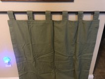 Green Curtains in Fort Hood, Texas