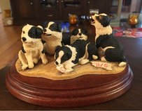 Collie Puppies Figurine in St. Charles, Illinois