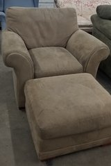 REDUCED chair and ottoman in Peoria, Illinois