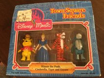 Town Square Friends Figures in Plainfield, Illinois