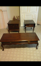 Ethan Allen Coffee Table and End Tables in Fort Knox, Kentucky