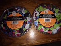 Crafting Assorted Buttons in Oswego, Illinois