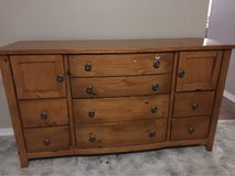 Dresser and bed frame in Fort Polk, Louisiana