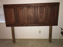 Headboard (Queen) with Bed Frame in The Woodlands, Texas