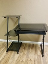 Black Tempered Glass Desk in Lawton, Oklahoma