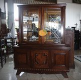 beautiful display cabinet from the 1920's in Spangdahlem, Germany