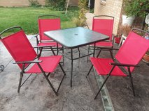 Patio set /table and chairs in Alamogordo, New Mexico