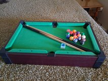 table top pool table in Yucca Valley, California