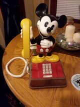 Vintage 1976 Mickey Mouse phone in Manhattan, Kansas