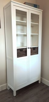 Display Cabinet / Bookcase White *Like New in The Woodlands, Texas