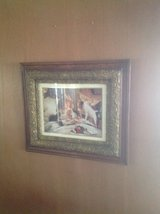 Decorative antique framed picture in Glendale Heights, Illinois