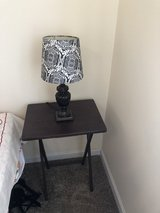 Side table and table lamp! in Aurora, Illinois
