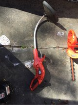Electric weed eater in Kingwood, Texas