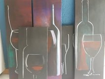 Wine pics, handpainted, Acryl in Ramstein, Germany