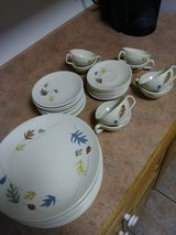 Franciscan earthenware in Fort Polk, Louisiana