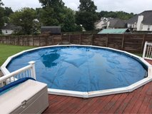 24' pool solar cover in Fort Campbell, Kentucky