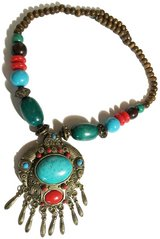 Ethnic Style Modern Beads Necklace in Richmond, Virginia