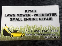 Lawn equipment repair/small engine in Okinawa, Japan